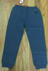 New With Tags The Black Dog Kids Sweatpants Color Grayish Blue Size M
