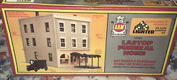 Ahm Ho Masterpiece Series 15707 Lastop Funeral Home Building And Hearse Kit