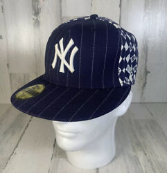 New Era New York Yankees Vintage 59 Fifty 7 1/8 Fitted Cap Blue Pin Striped