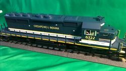 Mth 20-21166-1 - Sd40-2 Diesel Engine Chesapeake And Indiana 6321 W/ Ps3