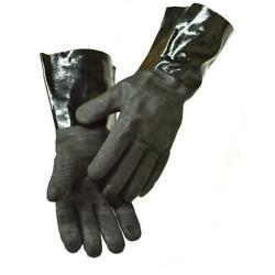 Bbq Smoker Grill Cooking Gloves Pair 14 Insulated Waterproof Oil Heat Resistant