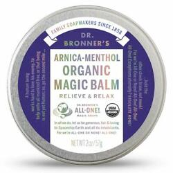 Dr. Bronnerand039s All-one Arnica-menthol Organic Magic Balm Relieve And Relax