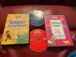 Cedarmont Kids Dvd Lot Toddler Action Songs And Tunes Bible Songs Action Bible