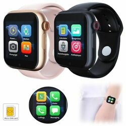 Women Men Smart Watch Sport Watch Unlocked Gsm Phone For Android Cell Phones