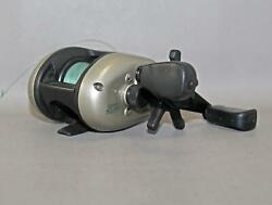 Quantum Cx200 Baitcasting Reel With 2 Bearing System And New 10 Trilene Xt Line