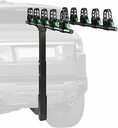 5 Bike Rack 2and039and039 Hitch Receiver Mount Heavy Duty Bicycle Carrier Racks Foldable