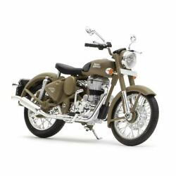 Royal Enfield Mini 3d Scale Model/miniature Gray Color Toy Gifts