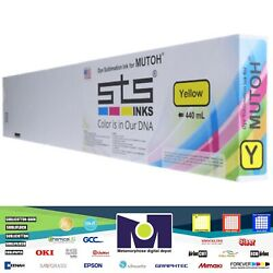 Compatible Dye Sublimation Ink Yellow Cartridge Mutoh Falcon 440ml