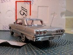 Franklin Mint 1963 Chevy Impala Ss 409..rare Coupe..mint In Foam Shell...sweet