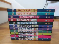 South Park Dvd Lot Of 11 Volumes 1-6+ Chef Christmas Timmy + More Comedy Central