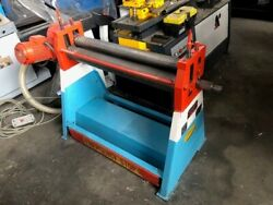 Morgan Rushworth 1025mm X 2mm Powered Bending Rolls / More Machines For Sale