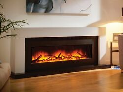 Modern Electric Fireplace Suite Flamerite Fire Kayden 1300 Free Standing Nitra