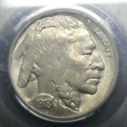 1918 D 5c Buffalo Nickel Five Cents Certified Pcgs Ms62 Us Mint Coin