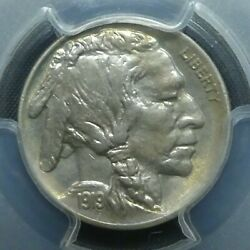 1919 5c Buffalo Nickel Five Cents Certified Pcgs Ms64 Us Mint Coin