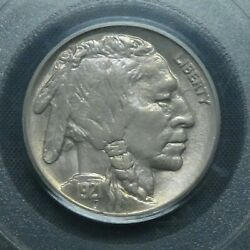 1921 5c Buffalo Nickel Five Cents Certified Pcgs Ms63 Us Mint Coin