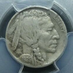 1925 D 5c Buffalo Nickel Five Cents Certified Pcgs Vf30 Us Mint Coin