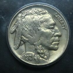 1926 5c Buffalo Nickel Five Cents Certified Pcgs Ms64 Us Mint Coin