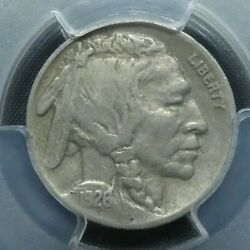 1926 S 5c Buffalo Nickel Five Cents Certified Pcgs Vf20 Us Mint Coin
