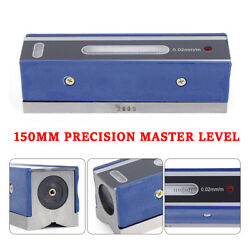 New 6andrdquo Master Precision Level In Fitted Box For Machinist Tool 0.0002and039and039/10and039and039 Top