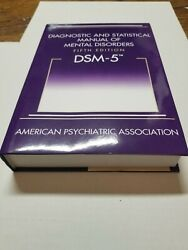 Diagnostic And Statistical Manual Of Mental Disorders Dsm-5 Hardcover Like New