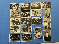 Beatles 1965 3rd Series Topps Trading Cards 18 Card Lot
