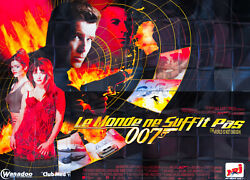 James Bond 007 World Is Not Enough 10x13 Ft Giant Billboard Movie Poster 1999