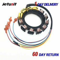 For Mercury Outboard Stator 1976-19899amp90hp-200hp 398-5454a9/a17/a18 9-25500