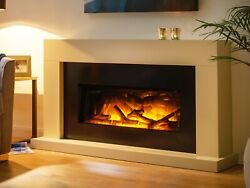 Modern Electric Fireplace Suite Flamerite Fire Kayden 900 Free Standing Radia
