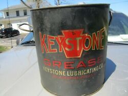 Vintage Original Keystone 4 Gallon Grease Cannice Graphics/ Buy Now-good Offer