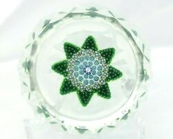 Perthshire 1982d Annual Ltd Ed. Star Pattern Paperweight Only 237 Made Free Ship