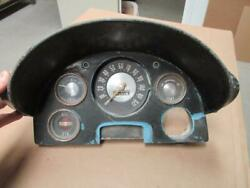 1957 Ford Fairlane Instrument Dash Assembly 3