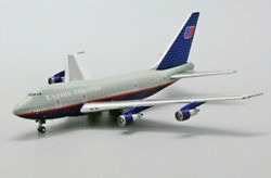 Jc Wings United Airlines B747sp N145ua 1/400 Diecast Plane Model Aircraft