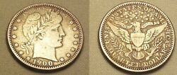1900o Barber Quarter....very Fine Condition.....no Problems