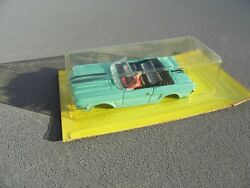 Aurora Afx Thunderjet Ho Slot Car 1371 Nos Turquoise Ford Mustang Convertible