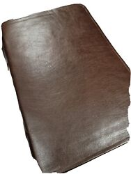Rock Of Ages Study Bible Kjv Rebound Brown Cowhide Leather Absolutely Supple