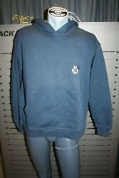Plus Minus Created By Chiemsee Hoody Mash K65 Blue Vintage New Size S Oversized