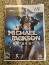 Michael Jackson The Experience Nintendo Wii 2010 Brand New Sealed Dance Game