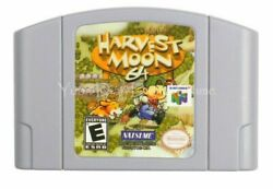 Harvest Moon 64 Nintendo 64 Video Game Card Cartridge Us Version