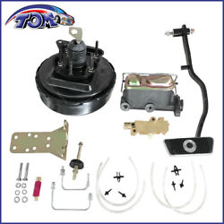 Brand New 9 Power Brake Booster Conversion Kit For 1967-1970 Ford Mustang