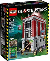 Lego Ghostbusters 75827 Firehouse Headquarters 4634 Piece New And Factory Sealed