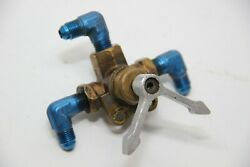 Piper Comanche Pa-24-180 Fuel Valve Assembly With Handle P/n 764-295 / 11383-004