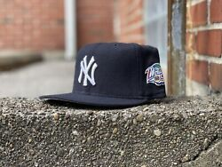 Vintage 1998 New York Yankees World Series New Era 5950 Wool Fitted Size 7 1/4