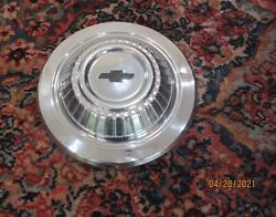Vintage 1966 Chevy L79 327 Chevy Ii Nova Chevelle Dish Hubcap Wheel Cover Nice