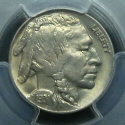 1931 S 5c Buffalo Nickel Five Cents Certified Pcgs Ms65 Us Mint Coin