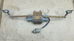 1948 1950 Dodge Truck Electric Windshield Wiper Motor / Towers / Arms Original