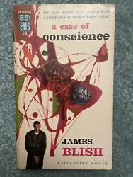 A Case Of Conscience By James Blish Ballantine Books 1958 Vintage Sci-fi