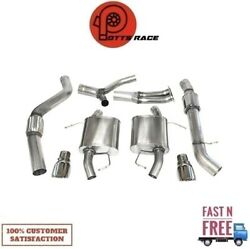 Corsa 14861 304ss Cat-back Exhaust System Split Rear Exit For 07-12 Bmw 3-series
