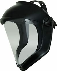 Uvex Bionic Face Shield With Clear Polycarbonate Visor And Anti-fog/hard Coat S