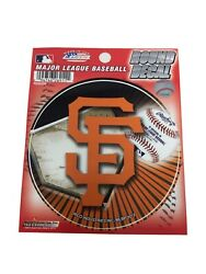 """Lot Of 5san Francisco Giants Mlb Round Vinyl Decal Stickers 4.5"""" New"""