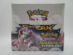 Xy Breakthrough Brand New Sealed Booster Box Of Pokemon Cards 36 Packs